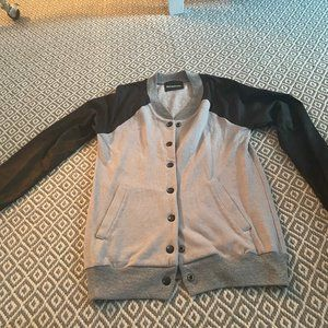 Monrow Jackets & Coats - Monrow Bomber Style Cardigan Size Small